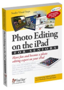 Cover of phot editing on the ipad